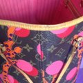Louis Vuitton Collectors Sold Out Limited Edition Celebrity Rare Tote in Red Coral Pink Monogram Image 6