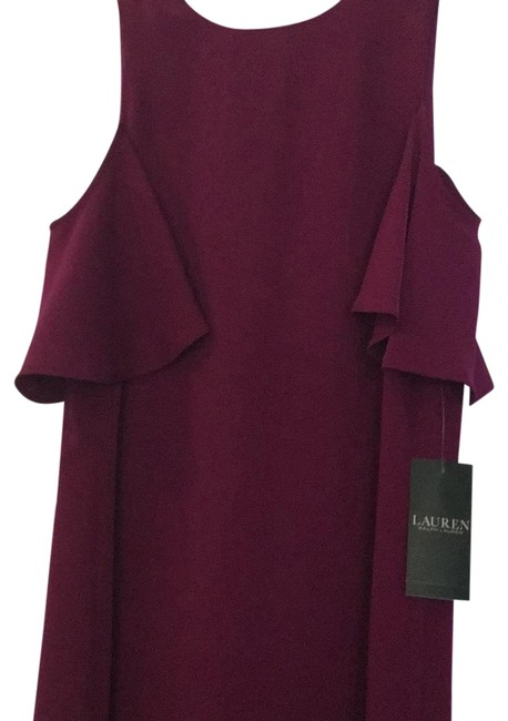 Preload https://img-static.tradesy.com/item/23304244/lauren-ralph-lauren-berry-jam-new-with-tag-mid-length-workoffice-dress-size-2-xs-0-1-650-650.jpg