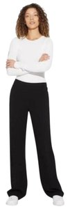 Theory Pull On Crepe Trouser Pants Black