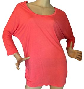 Ambiance Apparel Top Coral