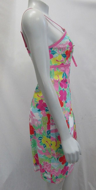 Lilly Pulitzer short dress multicolor Layla Floral Pink Print on Tradesy Image 1