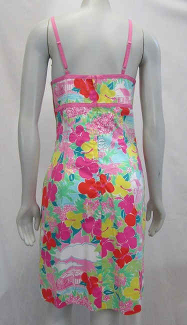 Lilly Pulitzer short dress multicolor Layla Floral Pink Print on Tradesy Image 4