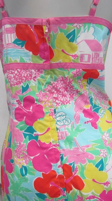 Lilly Pulitzer short dress multicolor Layla Floral Pink Print on Tradesy Image 5