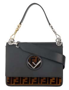 Fendi Silver Hardware Gold Hardware Shoulder Bag