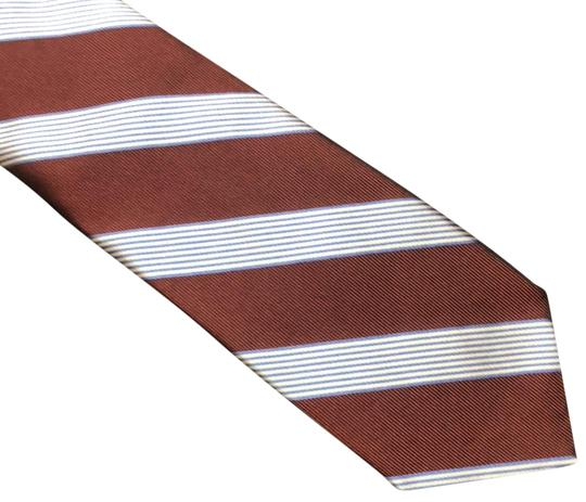 Preload https://img-static.tradesy.com/item/23304944/brooks-brothers-maroon-white-and-blue-346-tie-0-1-540-540.jpg