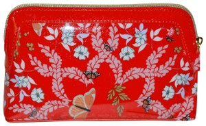Ted Baker TED BAKER London Kyoto Gardens Cosmetic Bag CASE Bright Red