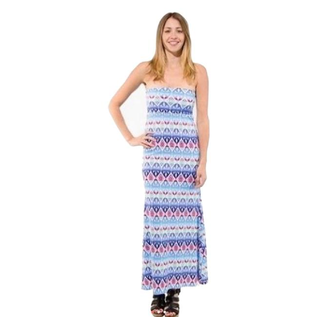 Preload https://img-static.tradesy.com/item/23305546/auditions-multicolored-aztec-long-casual-maxi-dress-size-4-s-0-0-650-650.jpg