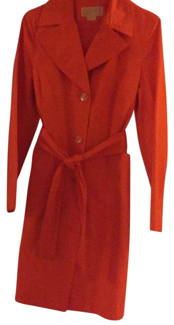 Item - Orange Stylish Coat Size 8 (M)