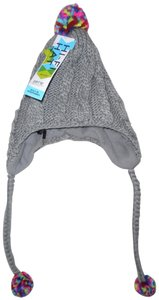 Old Navy HI-FI Cable Knit Soft Braided Beanie Hat w/Headphones