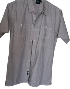 Burnside Button Down Shirt Men's Large Blue Burnside shirt