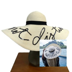 Eugenia Kim Eugenia Kim Sunny 'Do Not Disturb' Straw Sunhat in Natural One Size