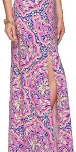 Lilly Pulitzer Maxi Skirt multi- can't resist small