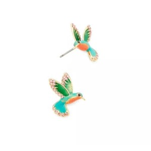 Kate Spade Kate Spade Scenic Route Hummingbird Studs With Dust Bag