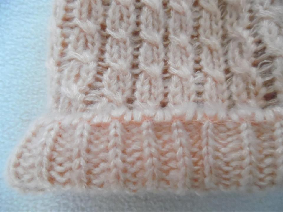 e9ca623bb68 Forever 21 Pale Pink Cable Knit Ligthweight Beanie Hat - Tradesy