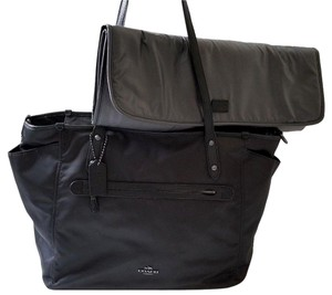 Coach Best Mom Gift Mommy New Born Gift BLACK Diaper Bag