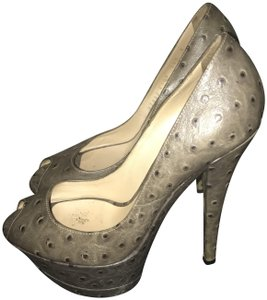 Casadei Gray Pumps