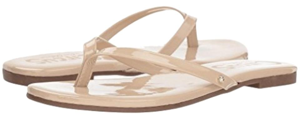 a89af1558ad26 Circus by Sam Edelman Nude Linen New Olly Flip Flops Flop Sandals ...