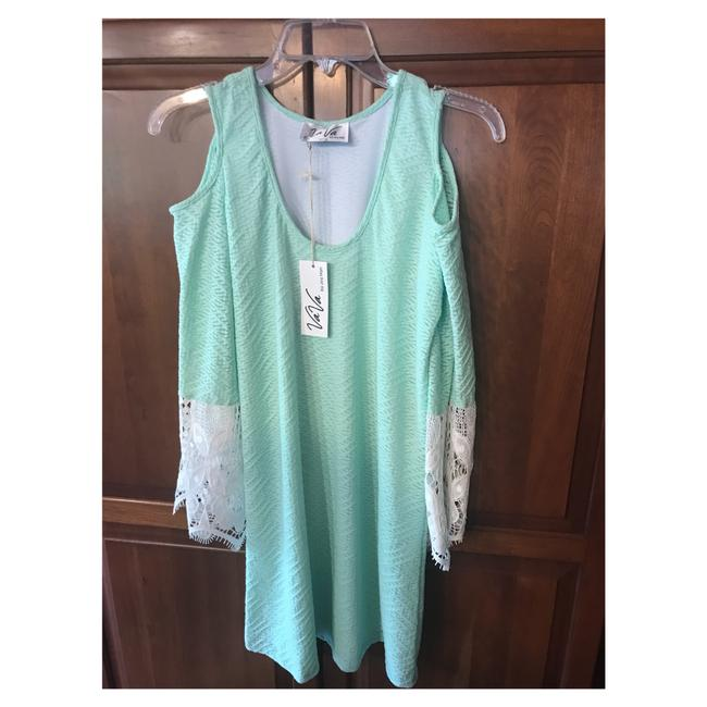 Item - Pastel Mint Green Short Casual Dress Size 4 (S)