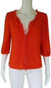 Kay Unger Knit Open Front Cropped Cardigan