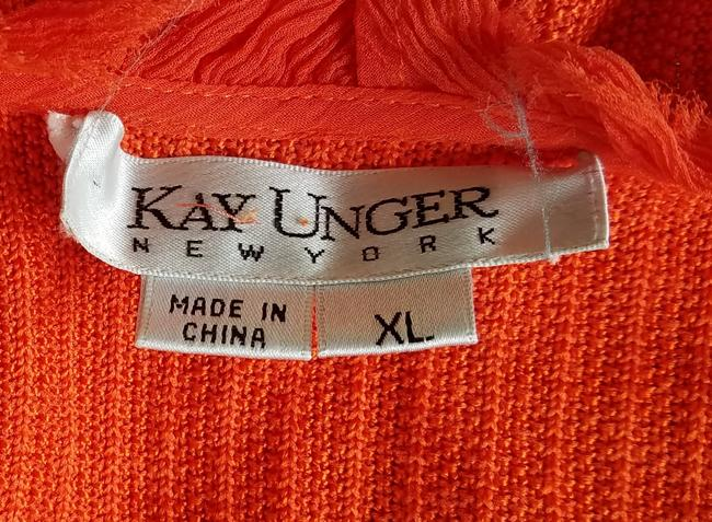 Kay Unger Knit Open Front Cropped Cardigan Image 2