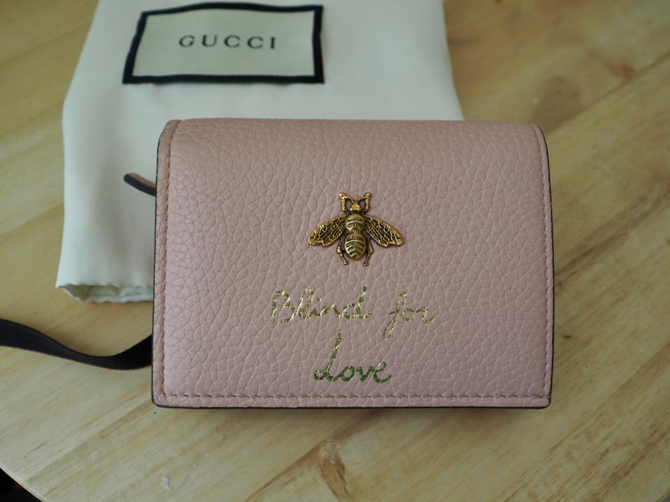 f212c3a486bd Gucci Gucci Animalier Bee Leather Card Case Image 10. 1234567891011