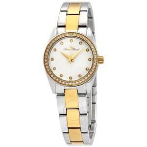 Lucien Piccard LaBelle Crystal White Dial Ladies Watch