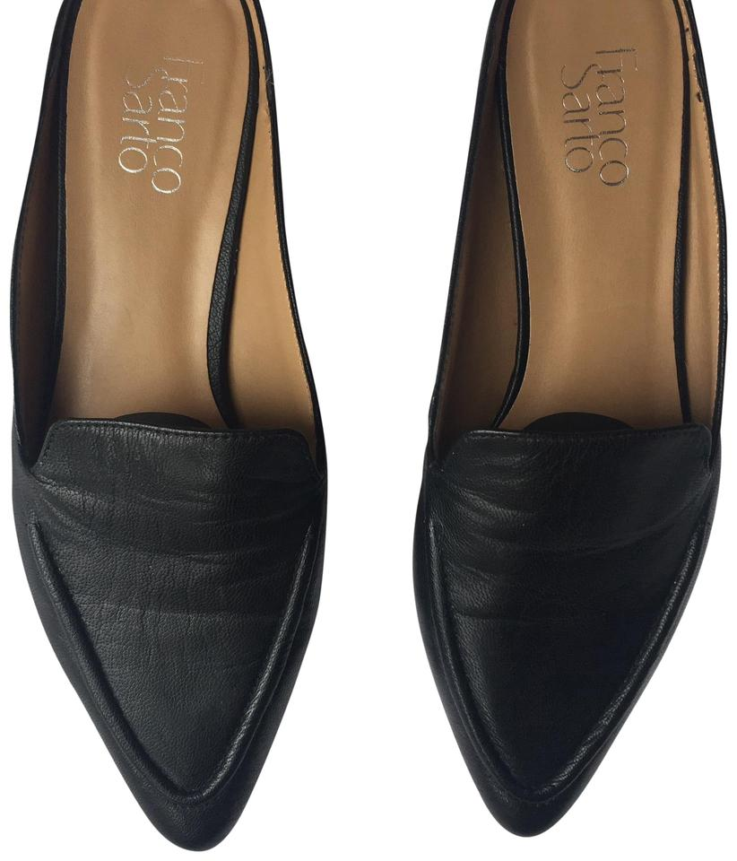 6dd9814560c Franco Sarto Black Sela Loafer Flats Size US 9 Regular (M