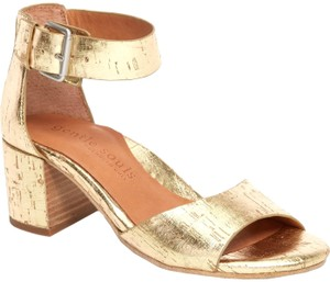 Gentle Souls Soft gold Sandals