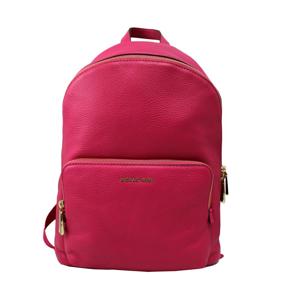 30d04f43cc8d Michael Kors Wythe Large Ultra Pink Leather Backpack - Tradesy
