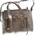 3.1 Phillip Lim Pashli Medium Satchel in Antique White & Military