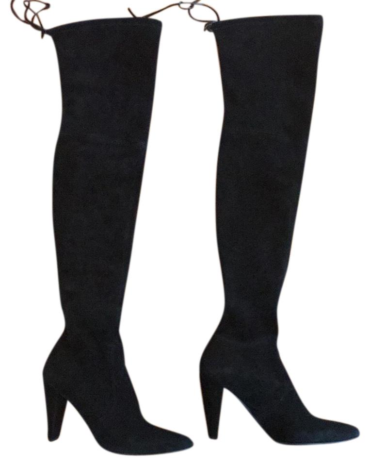 MISS Boots/Booties Stuart Weitzman Black Highstreet Boots/Booties MISS a great variety 9a3d96