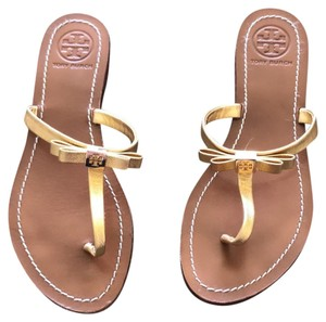 381f37b9f4051 Gold Tory Burch Sandals - Up to 90% off at Tradesy