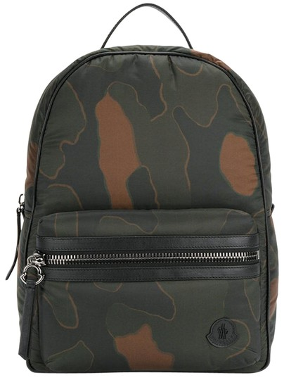 Preload https://img-static.tradesy.com/item/23308859/moncler-new-mens-new-george-leather-trim-camouflage-shell-green-polyester-backpack-0-1-540-540.jpg