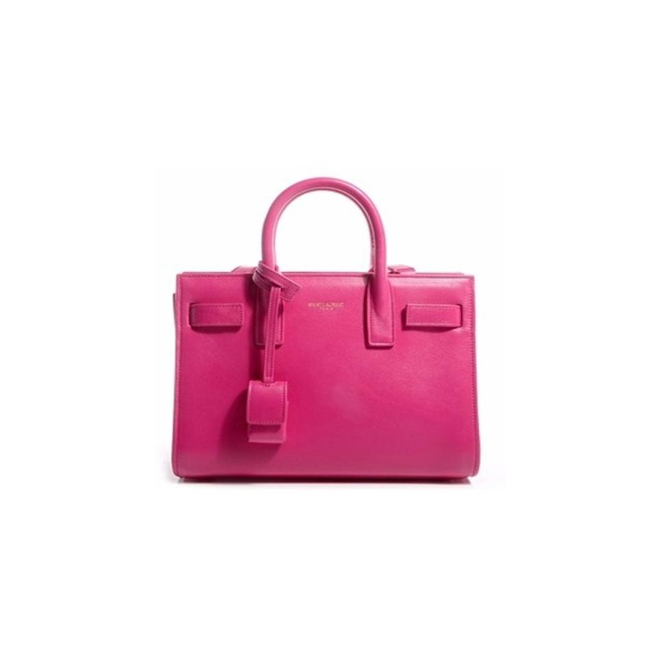 364eff7978cd Saint Laurent Sac de Jour Fuchsia Classic Small 324823 Pink Leather ...