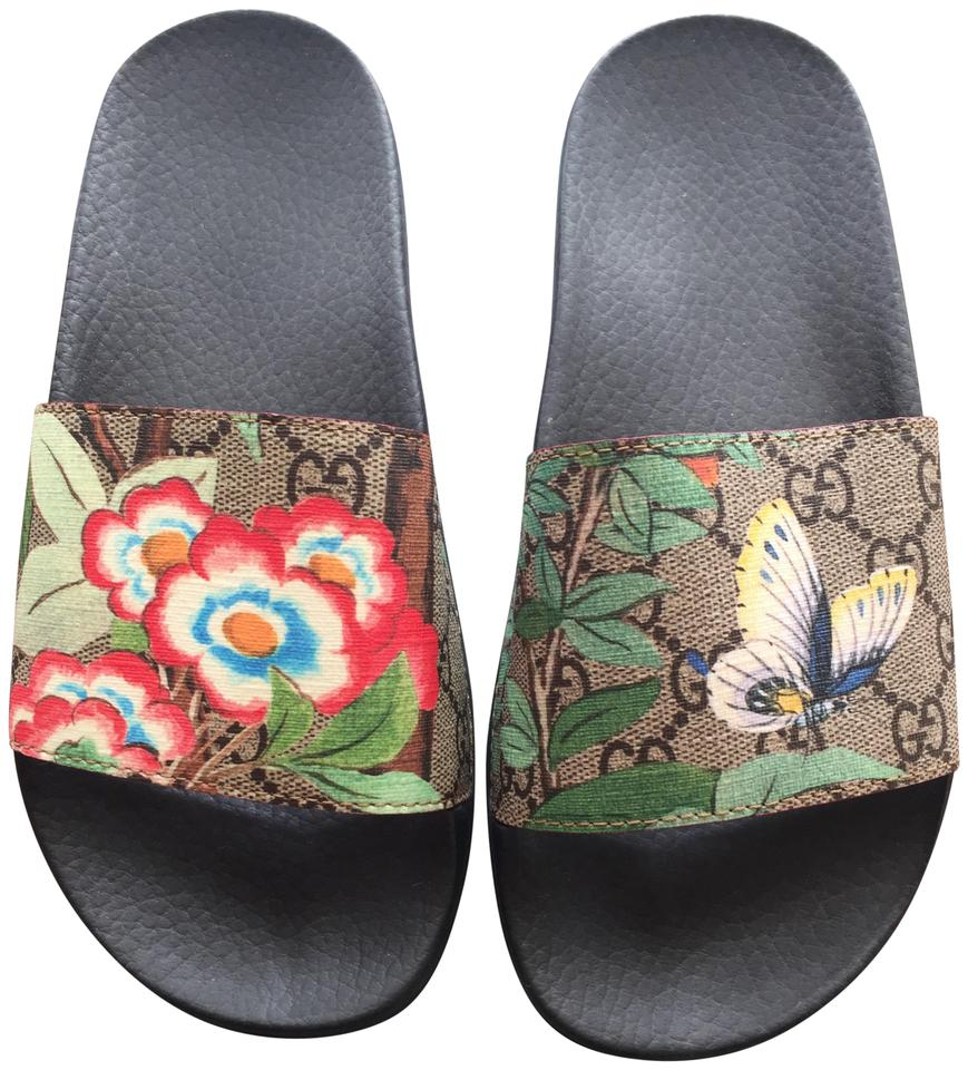 c9b814115 Gucci Women s Tian Slide Sandals Size EU 36 (Approx. US 6) Regular ...