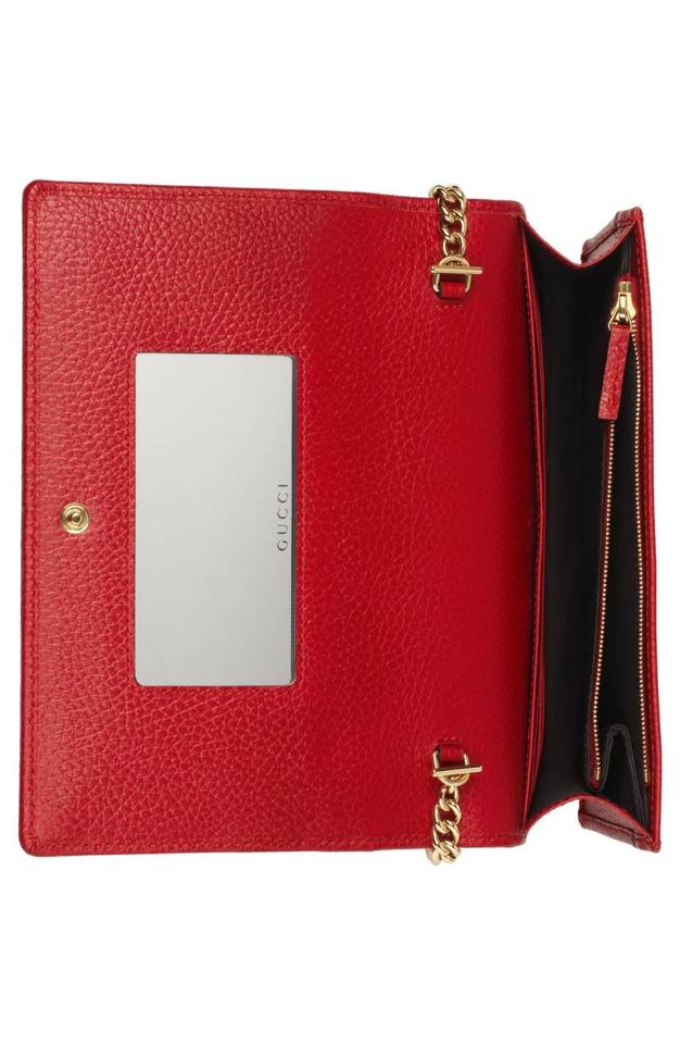 f8e59efa3dfa Gucci Petite Marmont Wallet On Chain Red | Stanford Center for ...