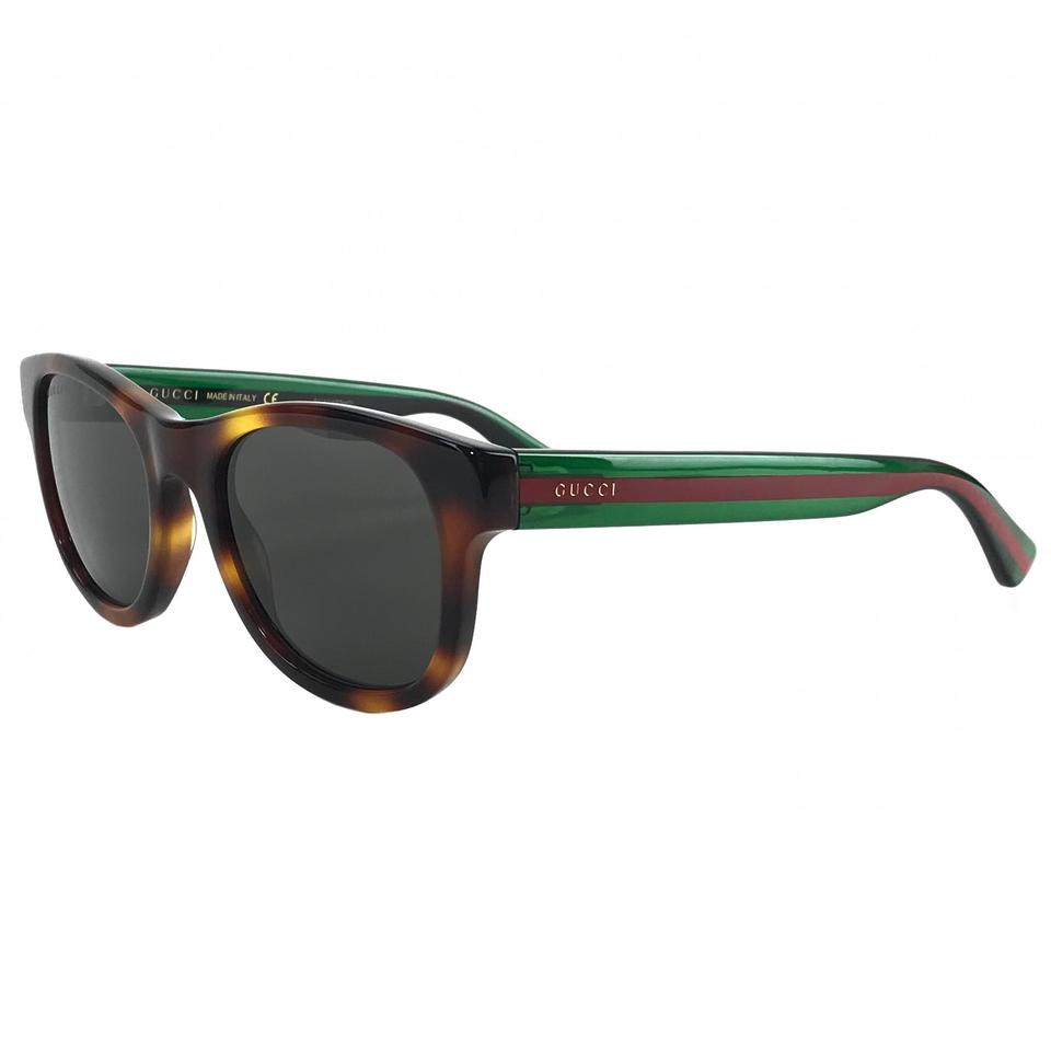 b5e27ba20a Gucci Multicolor 461688 Women s Round Frame Acetate 52-21-145 Sunglasses