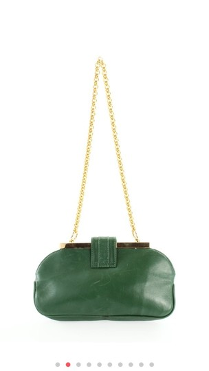 Dolce&Gabbana green Clutch