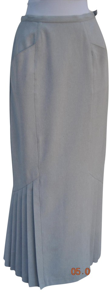 1ab148dbbee61 Newport News Light Dark Grey Very Sexy In A Librarian Way Skirt Size ...