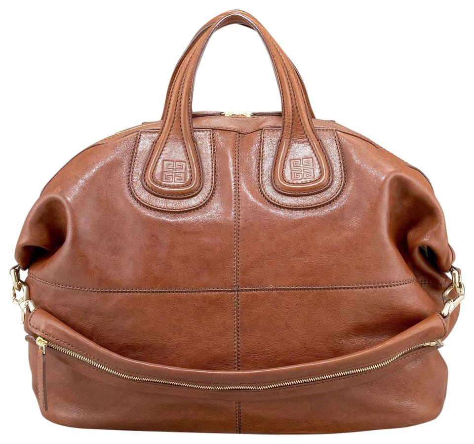 Givenchy Nightingale Brown Lambskin Leather Tote - Tradesy 9afba75a688c3