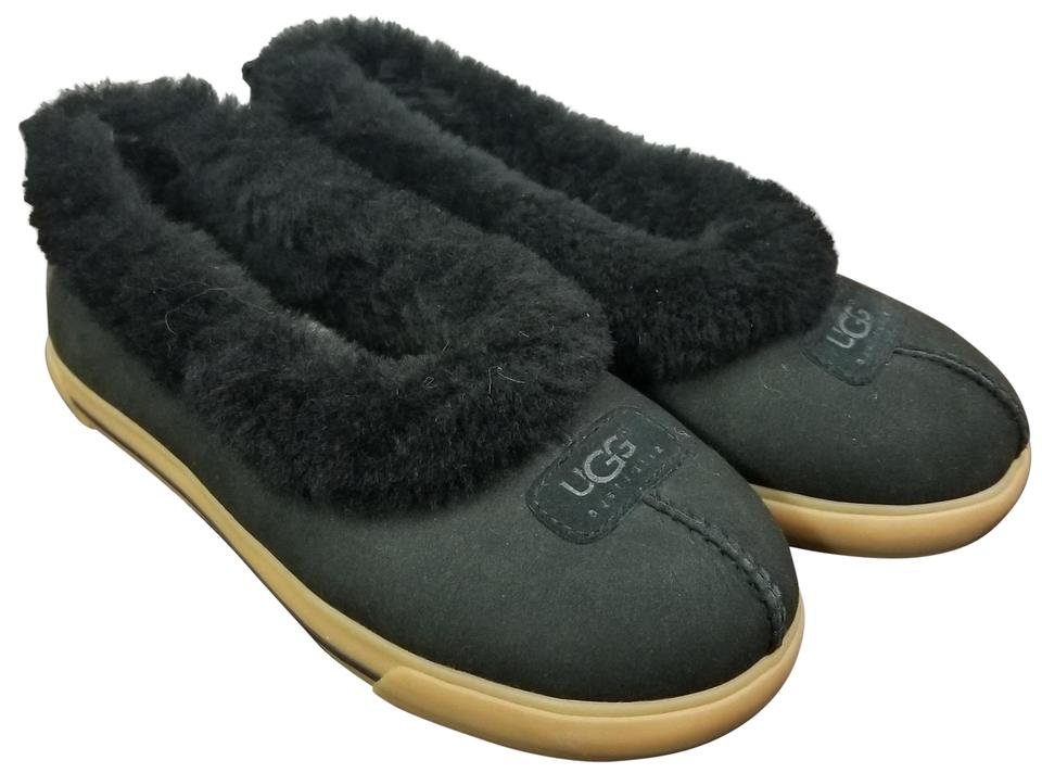 c81afba44b7 UGG Australia Black Rylan Sheepskin Slippers Nwot Boots/Booties Size US 8  Regular (M, B)
