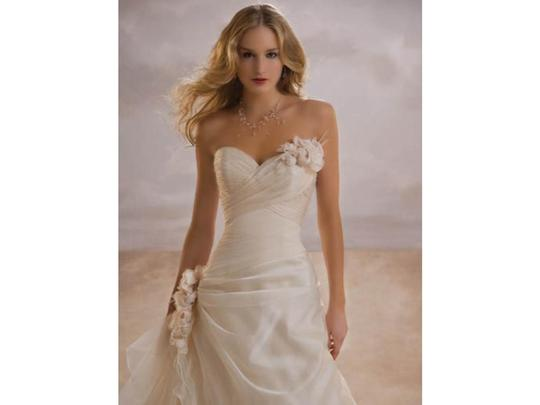 Demetrios Illusions Collection Style# Il-3133 Wedding Dress
