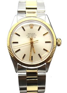 Rolex #18520 Stainless Steel & 14K gold Automatic 18520 Air King Watch