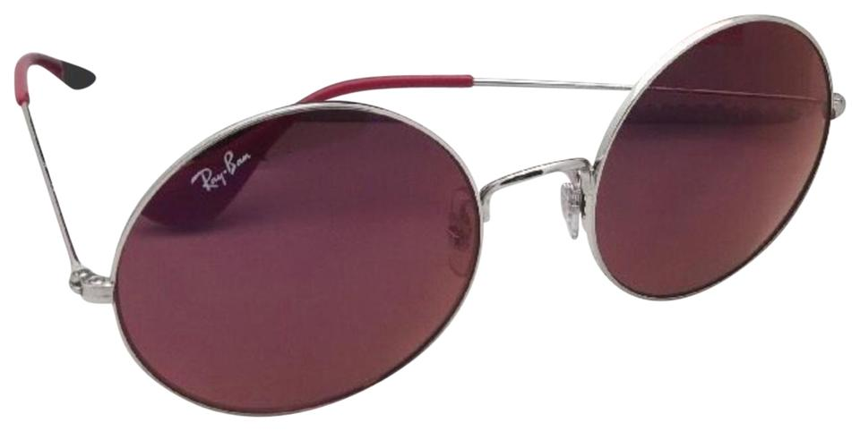 2459d73df0 Ray-Ban New Rb 3592 003 D0 Silver Round Frame W  Red Classic Lenses ...