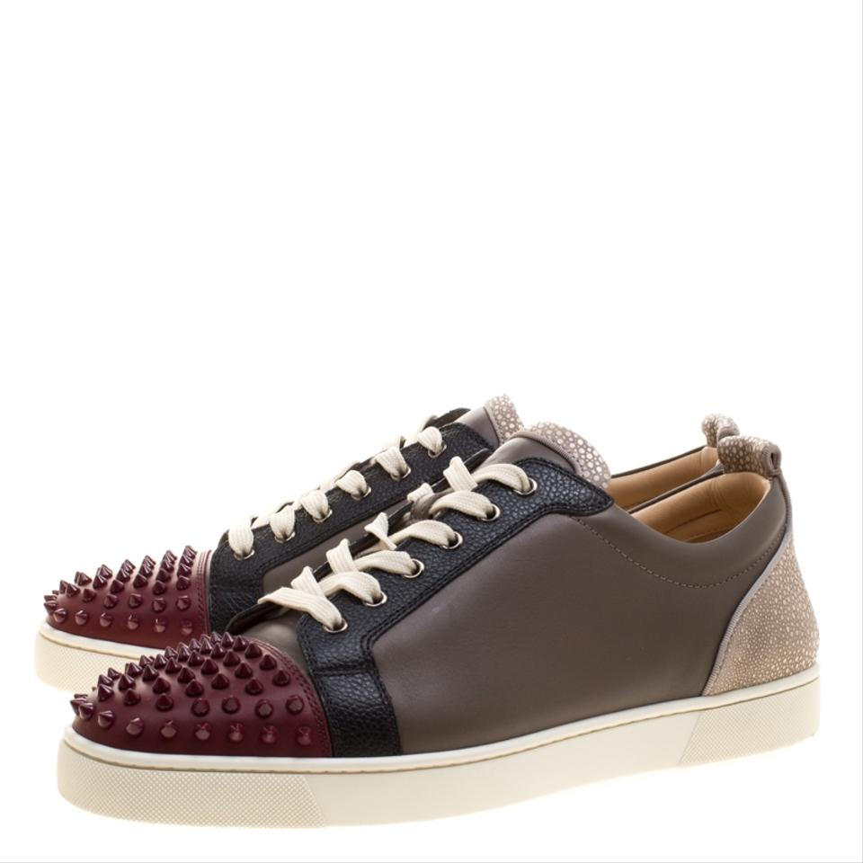 0965a748ecbb Christian Louboutin Multicolor Version Mastic Leather Louis Junior ...