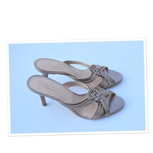 Item - Cream-beige Heeled Sandals Size US 6.5 Regular (M, B)