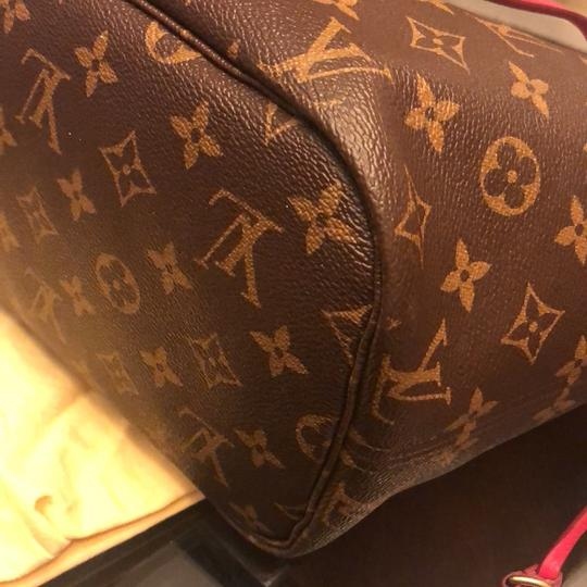 Louis Vuitton Tote in brown and pink Image 1