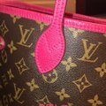 Louis Vuitton Tote in brown and pink Image 4