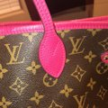 Louis Vuitton Tote in brown and pink Image 5