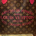 Louis Vuitton Tote in brown and pink Image 7